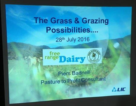 Free Range Dairy | Piers Presentation
