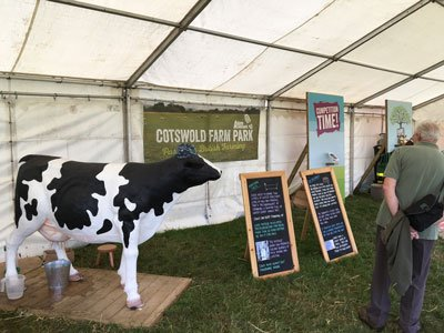 Free Range Dairy | Countryfile Live | A Henson Stand