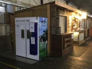 Image showing new milk vending machine located in the city of Bath