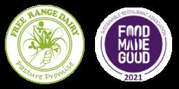 free range dairy logo